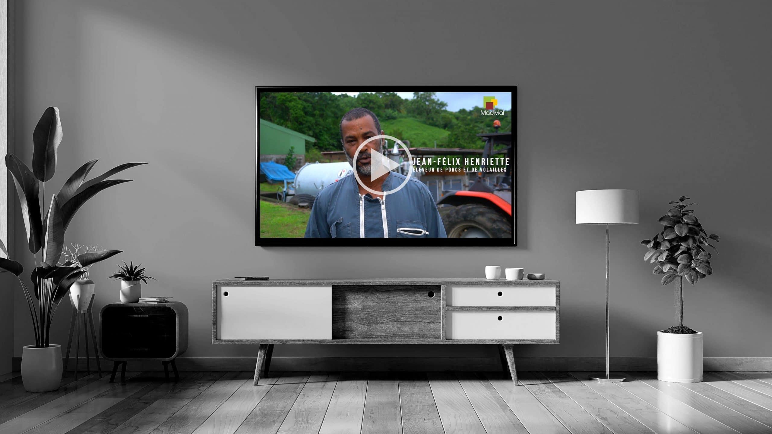 Télévision spot TV MADIVIAL